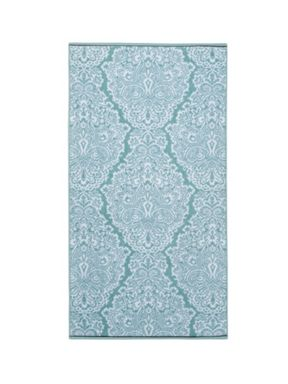 Christy Venezia Jacquard Towels Zinc