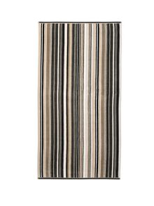 Barcode Stripe Jacquard Towels neutral