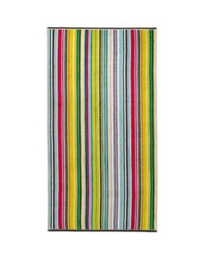 Christy Barcode Stripe Jacquard Towels Multicolo