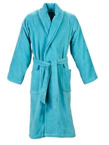 Christy Supreme robe lagoon