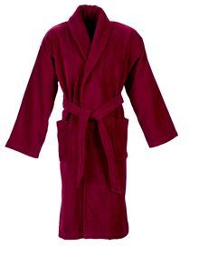 Christy Supreme robe raspberry