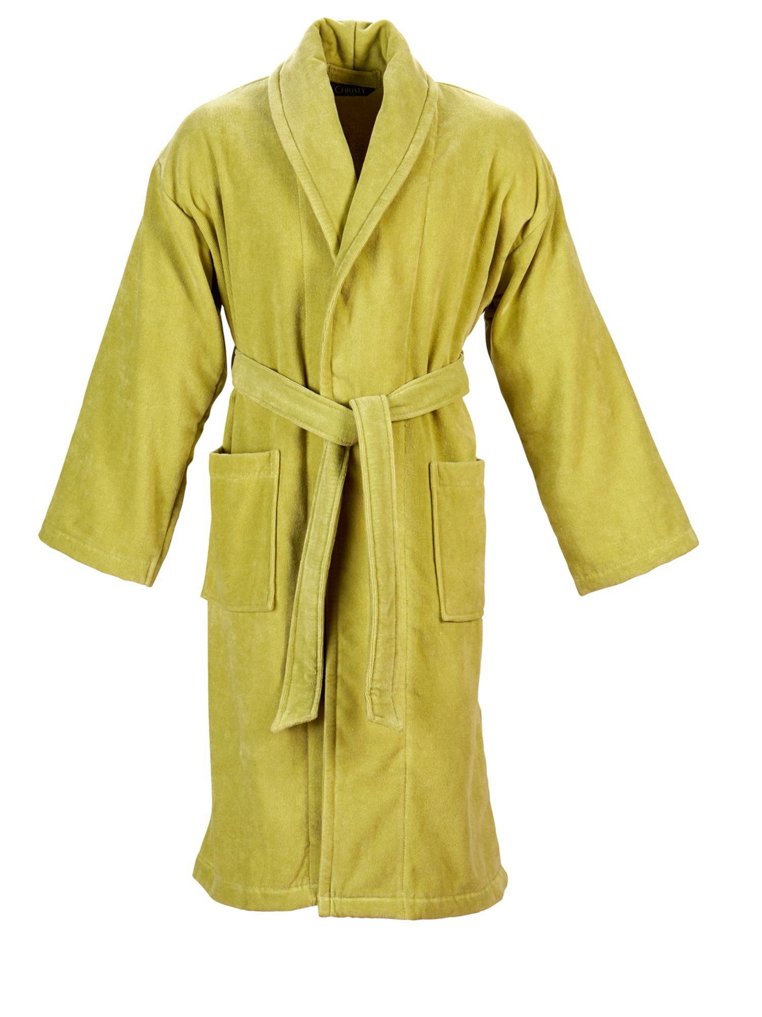 Christy Supreme robe large green tea, Green