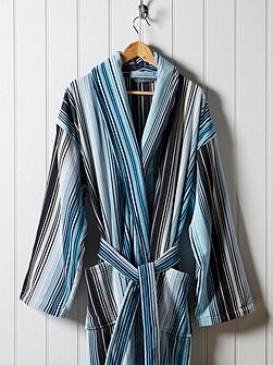 Supreme capsule stripe robe large aqua