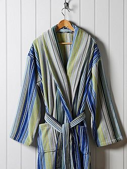 Supreme capsule stripe robe medium blue