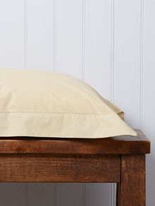 Christy 200 Plain Dye Oxford Rectangle Pillowcase Gold