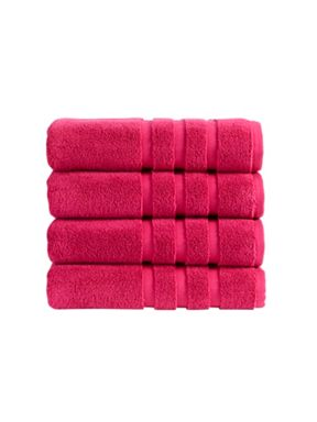 Christy Modena towel collection in Magenta