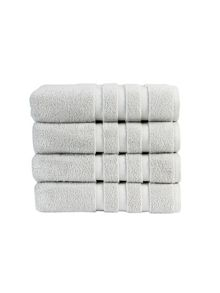 Modena towel collection in Platinum