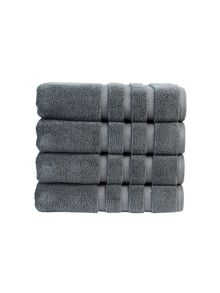 Modena towel collection in Slate