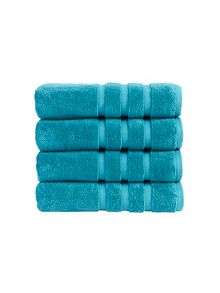 Modena towel collection in Teal