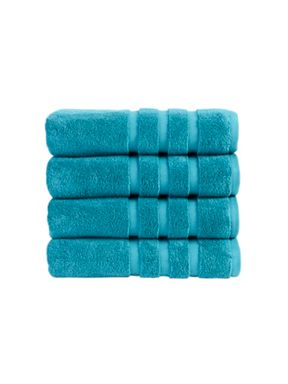 Christy Modena towel collection in Teal