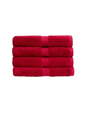 Christy Verona towel range in Deep Pink