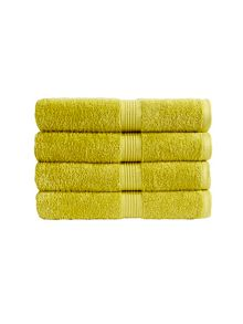 Verona towel range in Lime