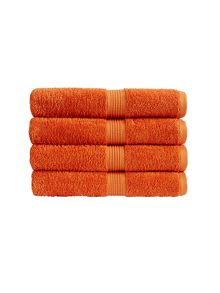 Christy Verona towel range in Mandarin