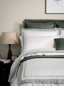 Coniston bed linen range in Silver