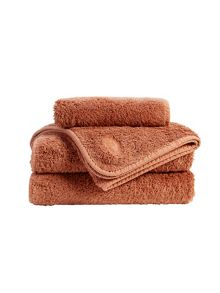 Christy Royal Turkish towel range in Henna
