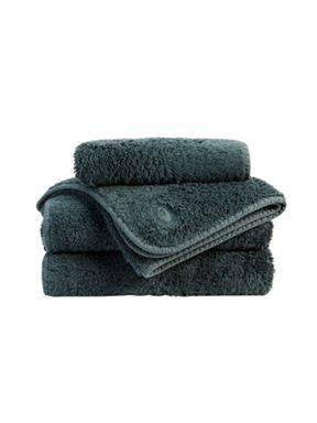 Christy Royal Turkish towel range in Indian Ink