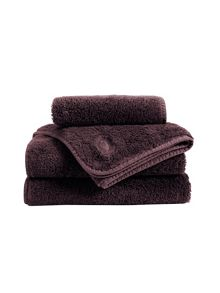 Christy Royal Turkish towel range in Mulberry