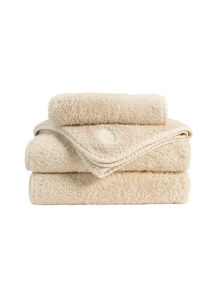 Christy Royal Turkish towel range in Pebble