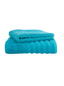 Kingsley Home Lifestyle towel & mat range Kingfisher