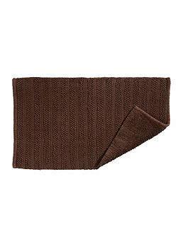 Lifestyle face towel walnut