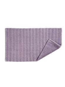 Kingsley Home Lifestyle towel & mat range in Thistle