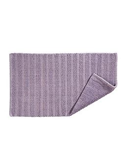 Lifestyle face towel thistle