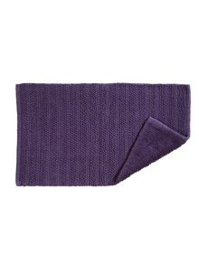 Kingsley Home Lifestyle towel & mat range in Amethyst