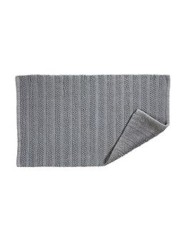 Lifestyle face towel grey