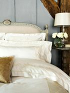 Christy Hannah bedlinen range in cream