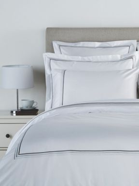 Christy Luxury Egyptian bed linen range in White