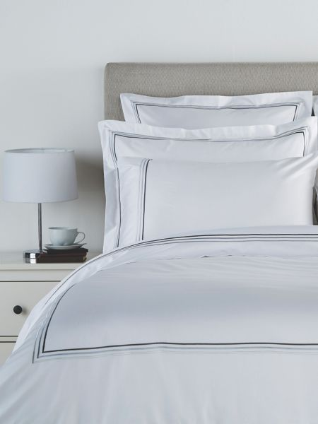 Christy Luxury egyptian double flat sheet white