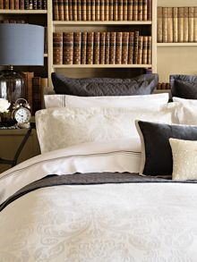 Camberwell bed linen range in silver