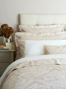 Byron standard pillowcase pair gold