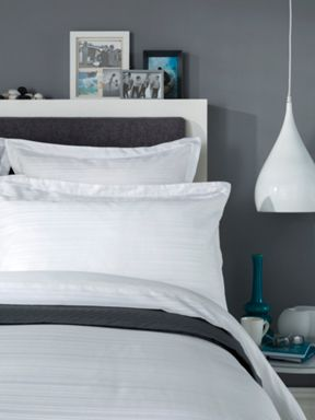 Christy Vermont bed linen collection in White