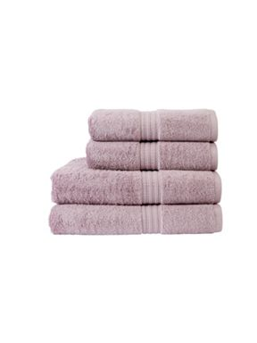 Christy Plush towel range in Wisteria