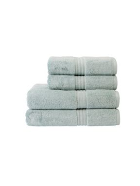 Christy Plush towel range in Duck Egg