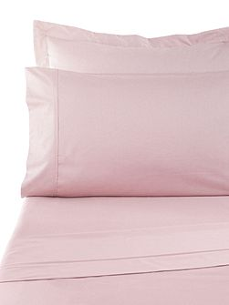 Sand 300tc flat sheet king pink