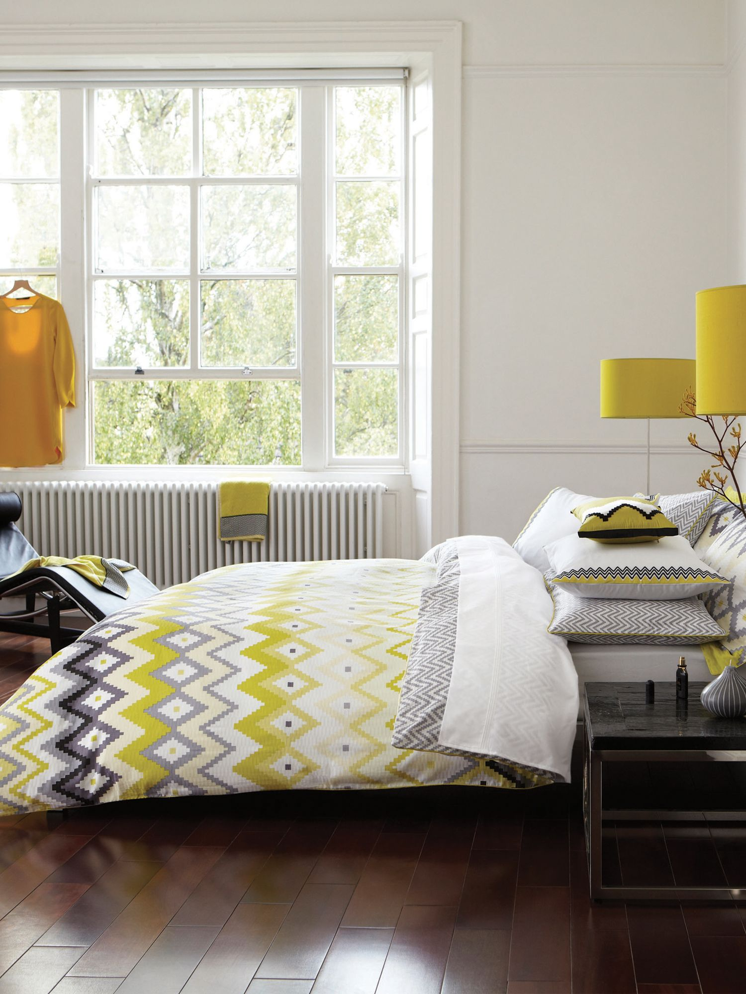 Altuza bed linen in citrus