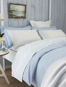Tiger stripe oxford pillowcase blue