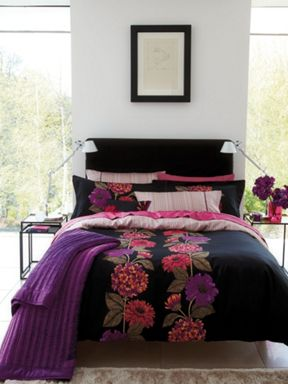 Bedeck Bella bed linen range in multi