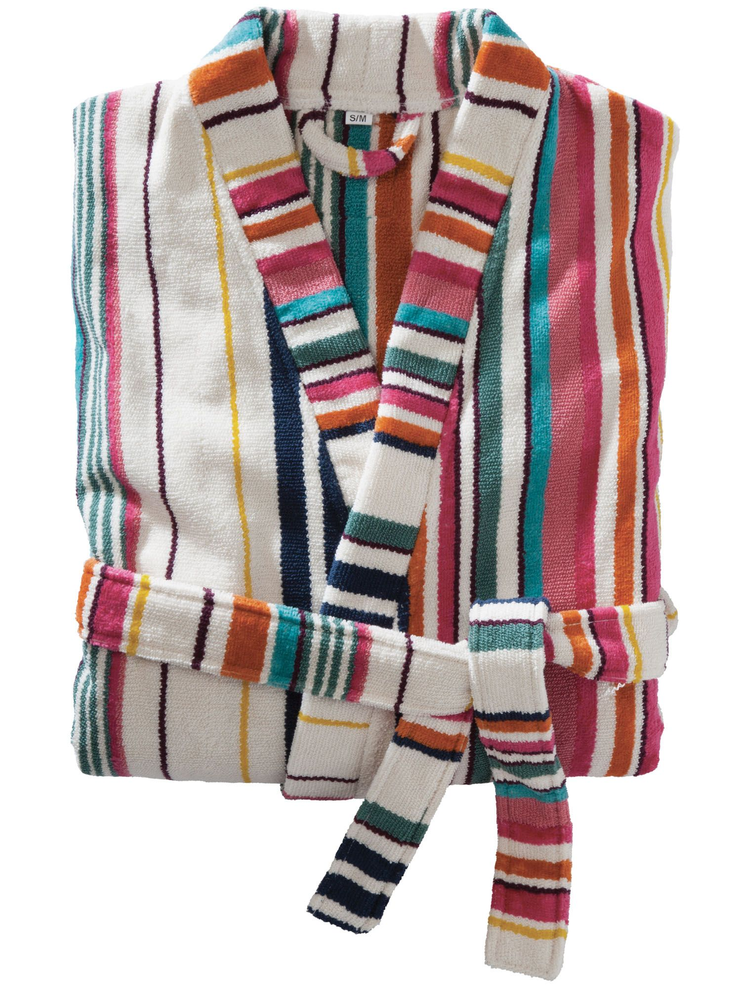 Deckchair striped robes