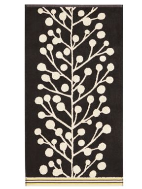 Scion Berry tree towels in multi black