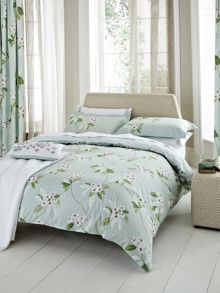 Oleander duvet cover double bed aqua