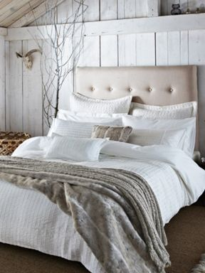 Bedeck Harmony bed linen in champagne