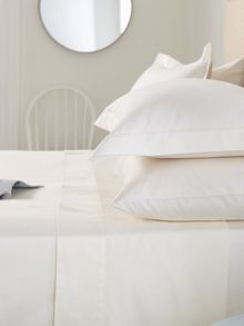 300tc plain pillow case housewife ivory
