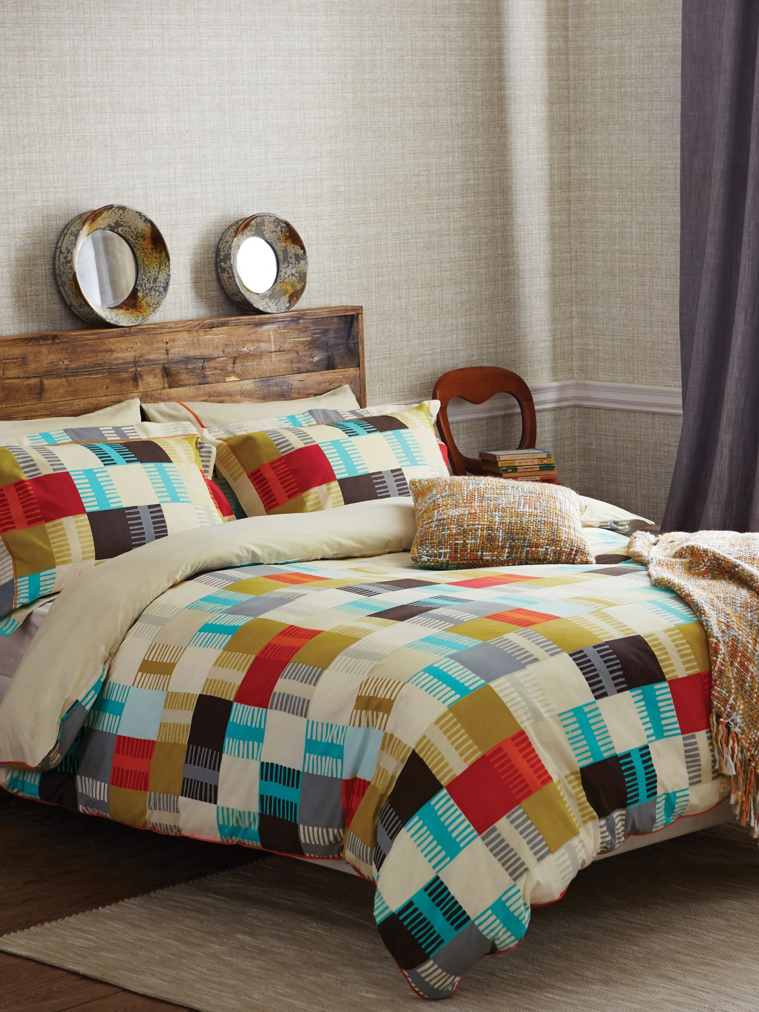 Navajo pillow case oxford multi