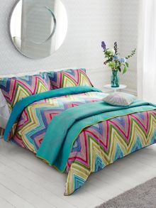 Groove pillow case oxford spice & azure