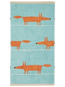 Mr Fox towel range