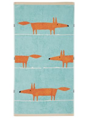 Scion Mr Fox towel range