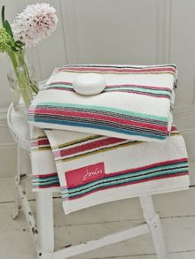 Bath stripe towels sheet multi